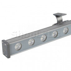 Светодиодный прожектор AR-LINE-1000M-24W-24V RGB (Grey, 30 deg, DMX512)