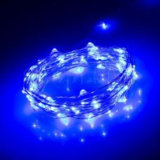 Светодиодная нить WR-5000-12V-Blue (1608, 100LED)