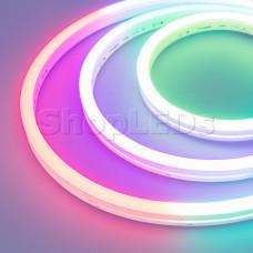 Герметичная лента DMX MOONLIGHT-5000S-SIDE-5060-84-24V RGB (12х17mm, 18W, IP67)