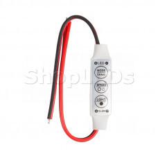 LED мини диммер радио  72/144 W, 3 кнопки,12 V/24 V