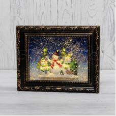 Декоративный светильник «Картина» с эффектом снегопада NEON-NIGHT