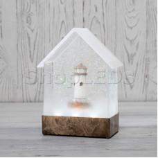 Декоративный светильник «Маяк» с конфетти и мелодией, USB NEON-NIGHT