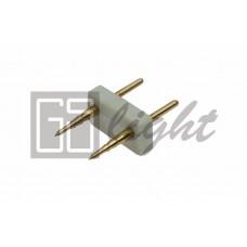 Соединитель для одноцветной светодиодной ленты 5050 220V